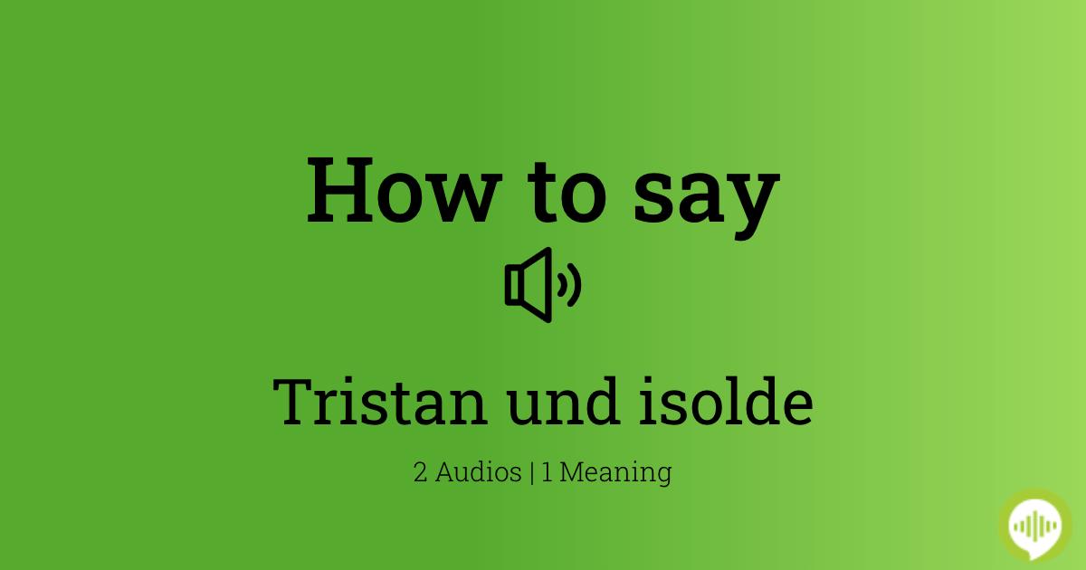 15+ Tristan meaning in urdu info