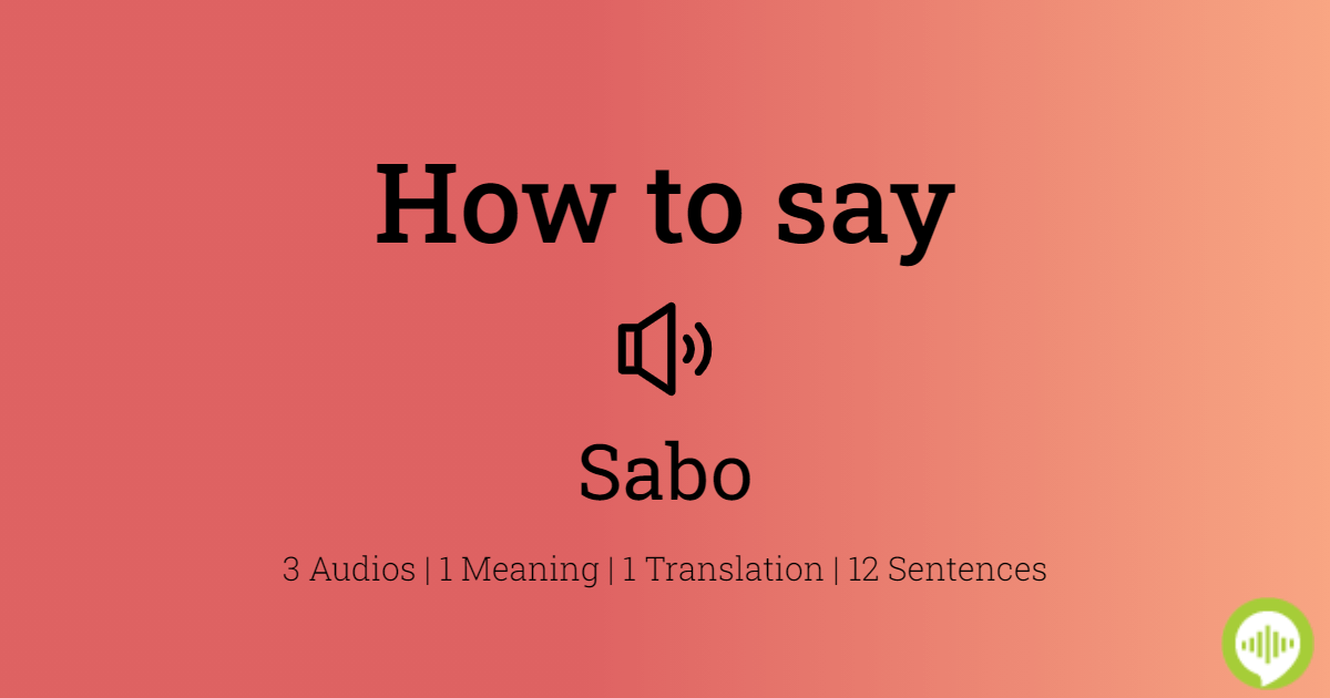 Sabotage Pronunciation And Meaning Youtube 15