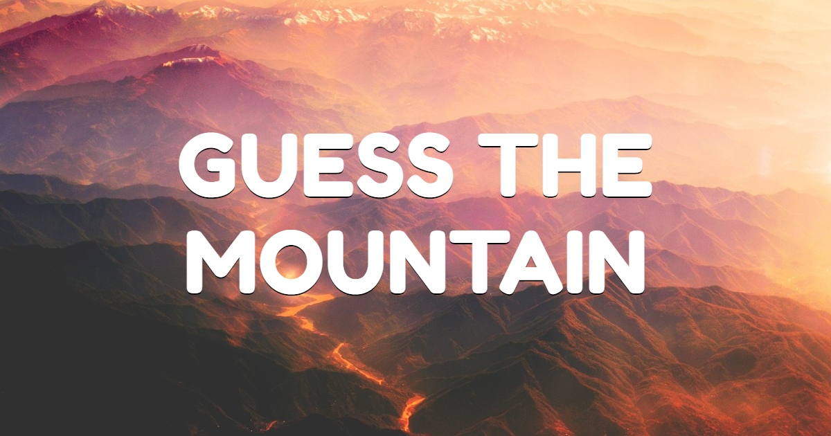Guess the Mountain thumbnail