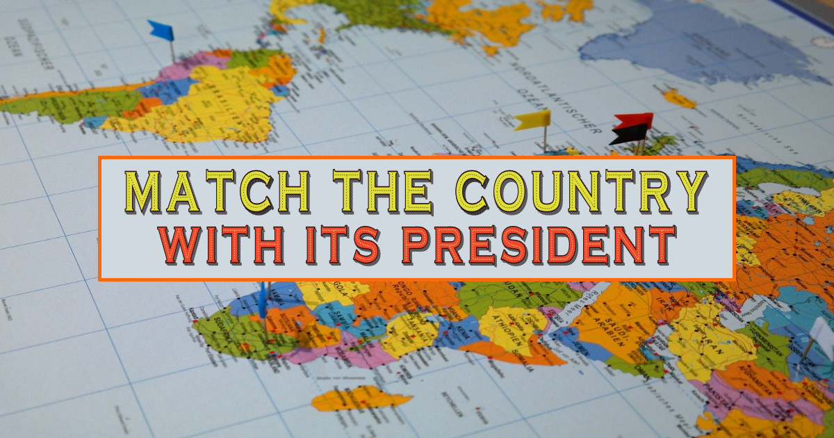 Match the Country with its President! thumbnail