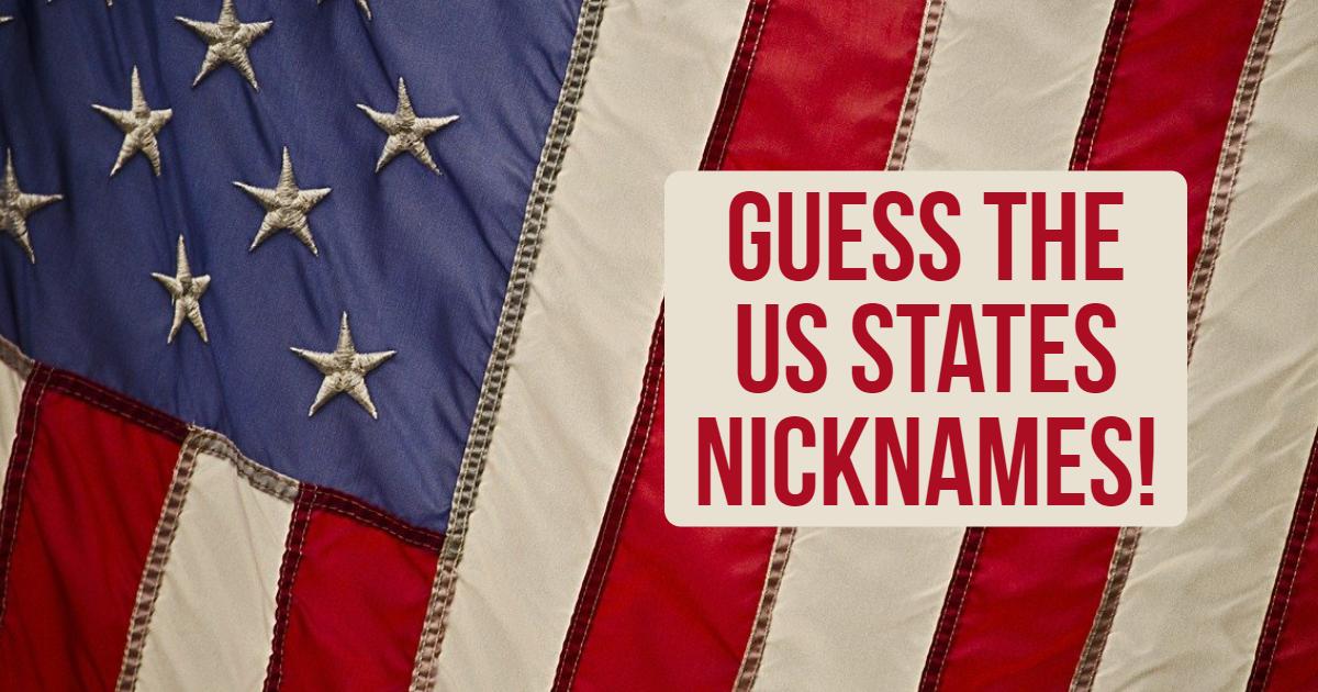 Guess The US States Nicknames! thumbnail