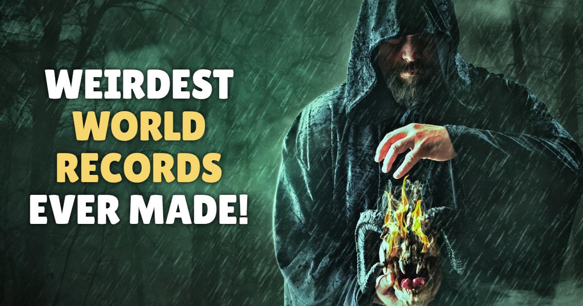 Weirdest world records ever made! thumbnail