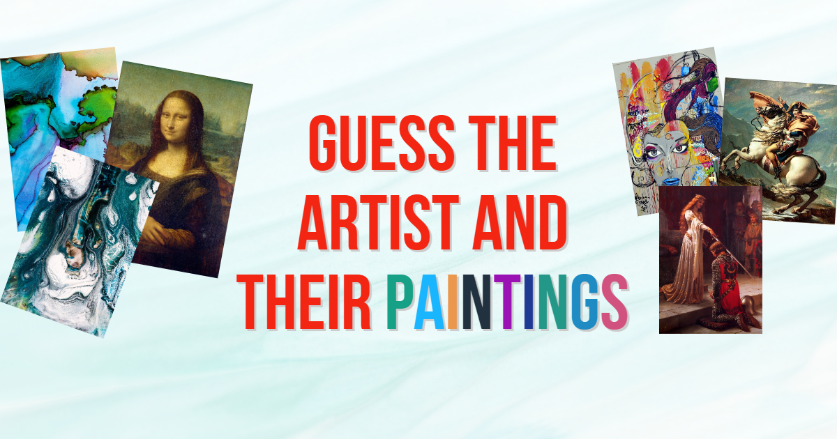 Guess the Artist and their Paintings thumbnail