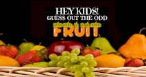 Kids - Odd One Out - Fruits & Vegetables