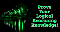 Prove Your Logical Reasoning Knowledge!
