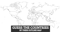 Guess the Countries by their Outline Map