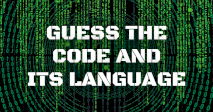 Guess the Code and its Language
