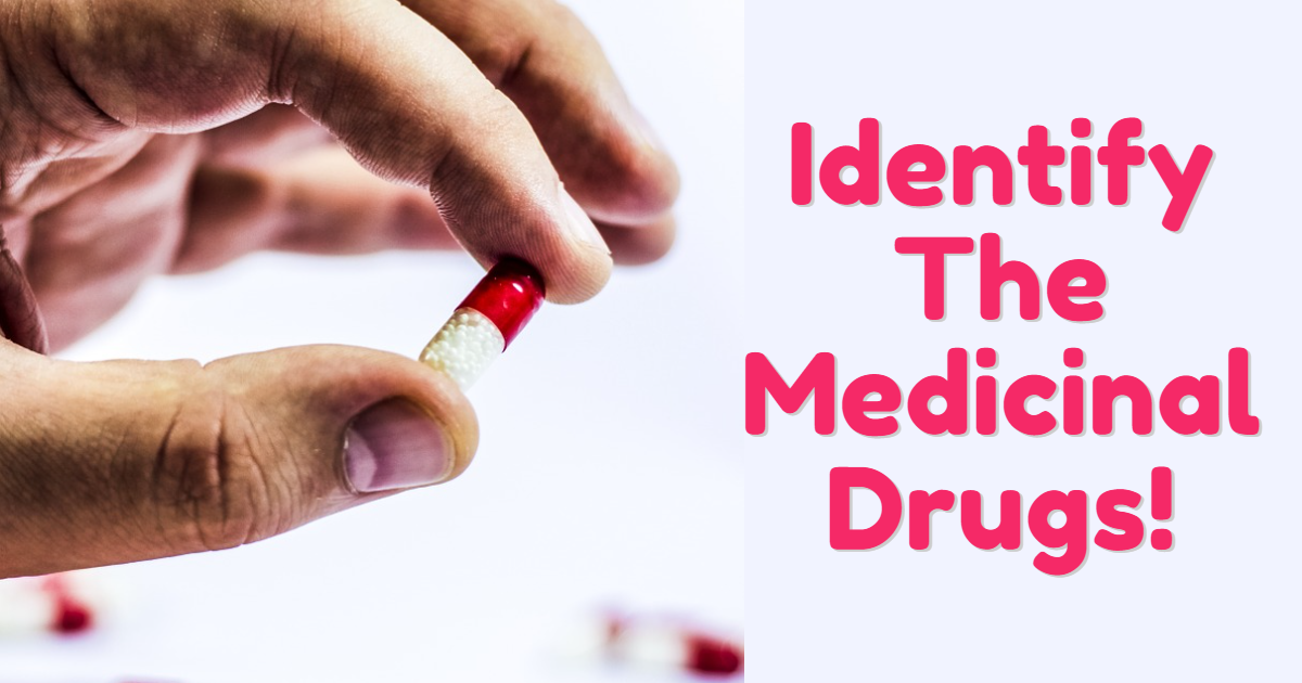 Identify The Medicinal Drugs! thumbnail