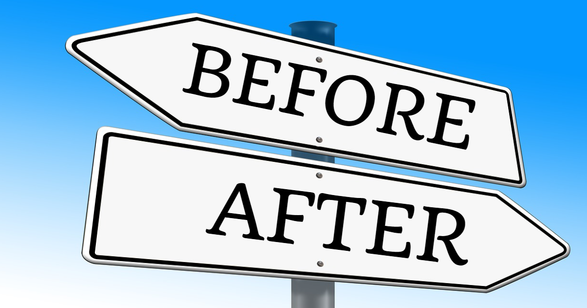 Use Of 'Before' And 'After' thumbnail