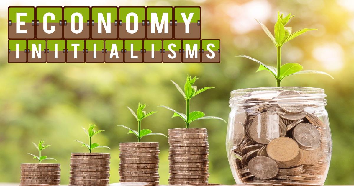 Economy Initialisms thumbnail