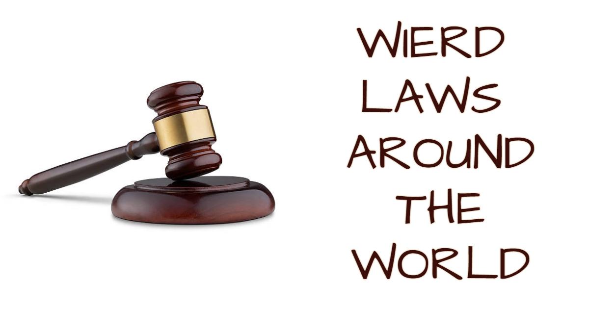 Weird laws around the World thumbnail