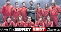 Guess The Money Heist Character