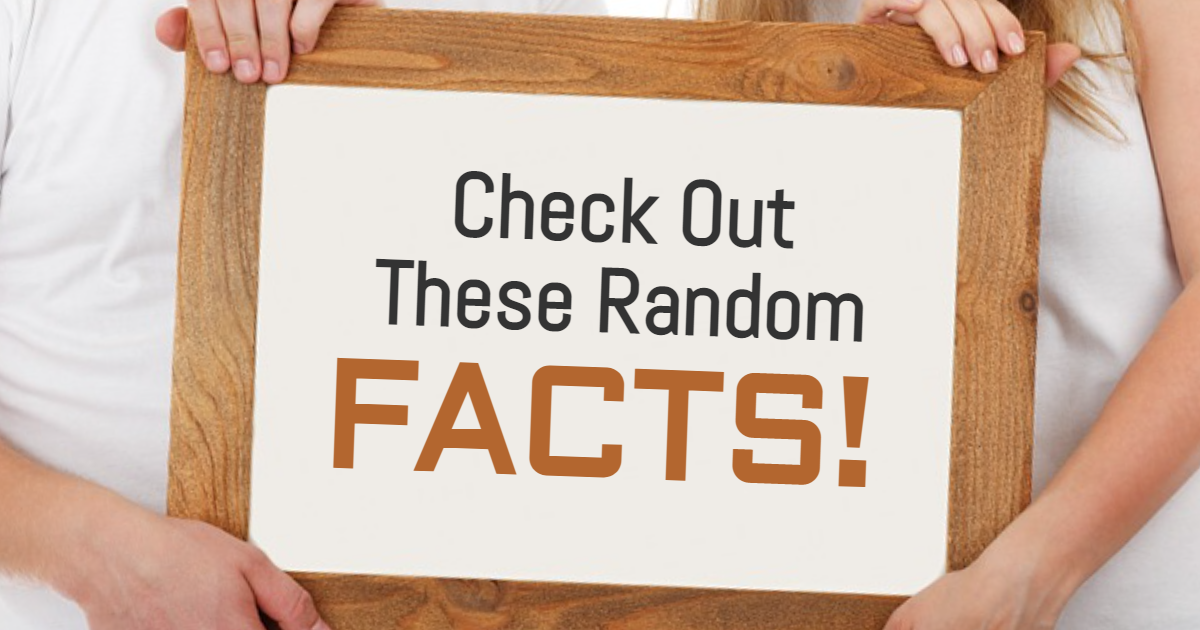 Check Out These Random Facts! thumbnail