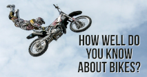 How well do you know about bikes?