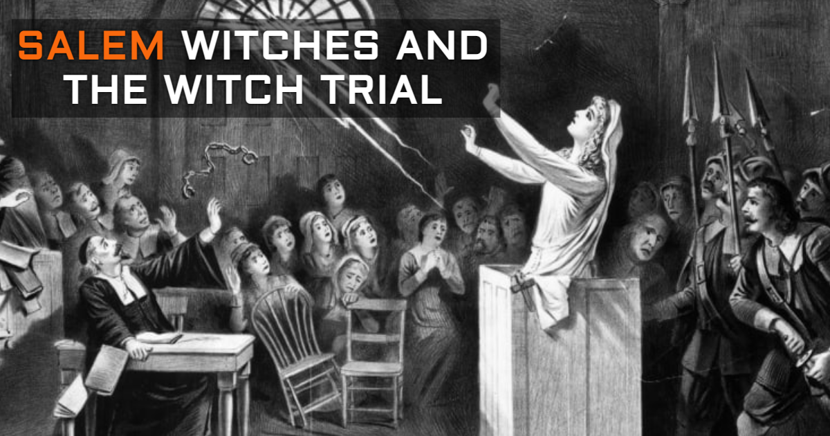 Salem Witches And The Witch Trial. thumbnail