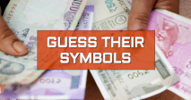 Rupee note and their symbols