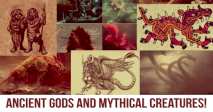 Identify These Ancient Gods and Mythical Creatures!