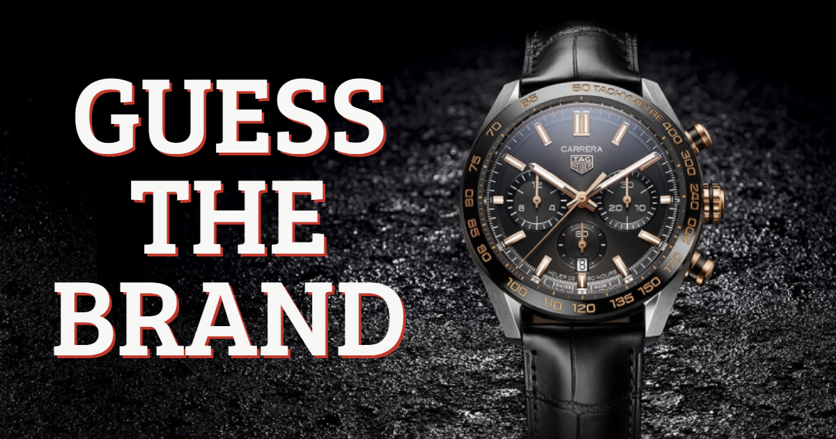 Guess the Watch Brand! thumbnail