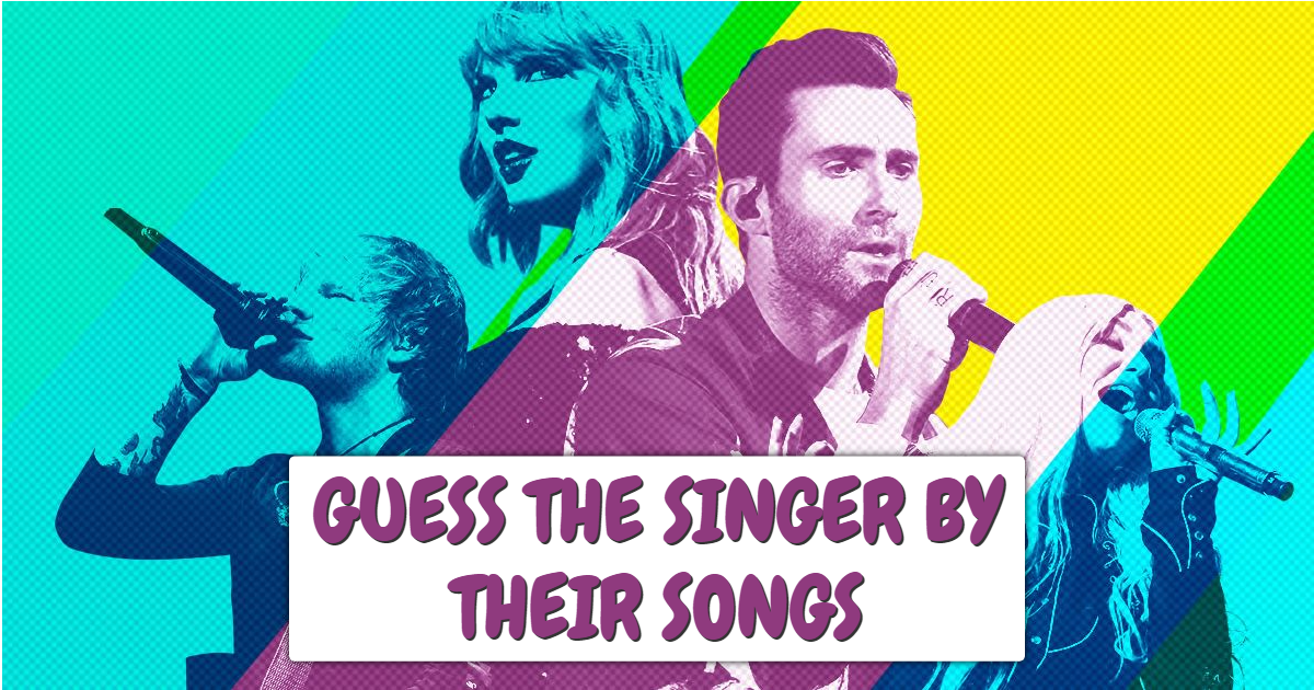 Guess The Singers By Their Songs thumbnail
