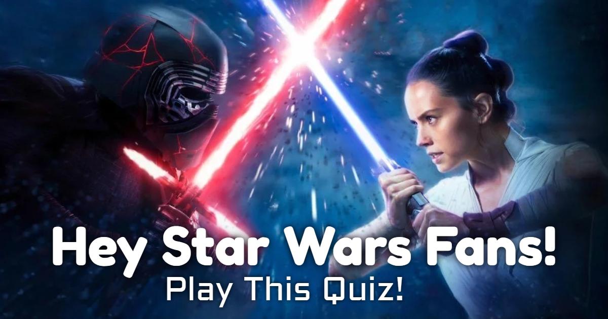 Hey Star Wars Fans! Play This Quiz! thumbnail