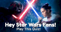 Hey Star Wars Fans! Play This Quiz!