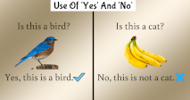 Use Of 'Yes' And 'No'
