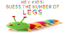 Hey Kids! Guess the Number of Legs