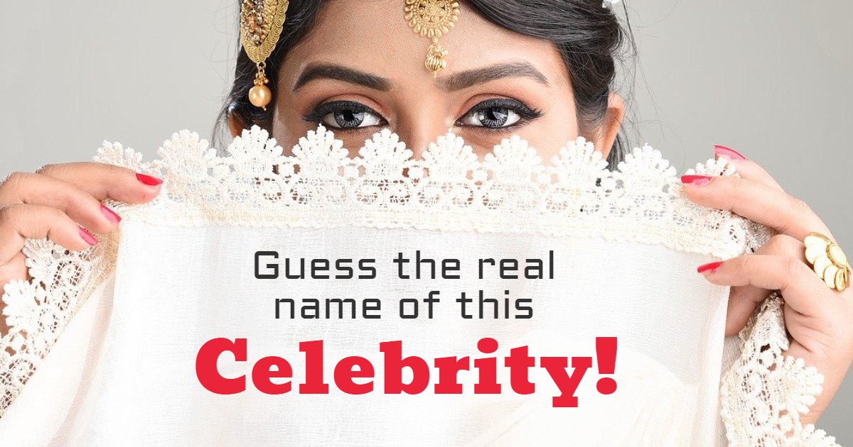 Guess The Real Name Of This Celebrity! thumbnail